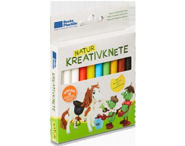 Kreativknete Pferd
