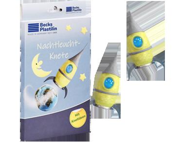 Nachtleuchtende Knete